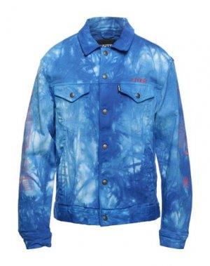 Куртка IUTER. Цвет: синий