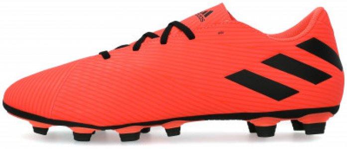 Бутсы мужские adidas Nemeziz 19.4 FXG, размер 41. Цвет: красный