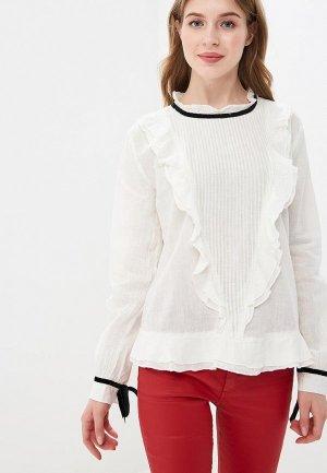 Блуза Colins Colin's. Цвет: белый