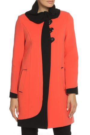 Пальто ELEGANT LEDI. Цвет: коричневый