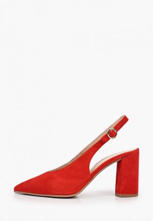 Туфли Argo. Цвет: красный