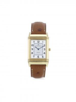 Наручные часы Reverso pre-owned 30 мм 1990-х годов Jaeger-LeCoultre. Цвет: серебристый