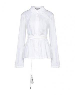 Pубашка DIRK BIKKEMBERGS. Цвет: белый