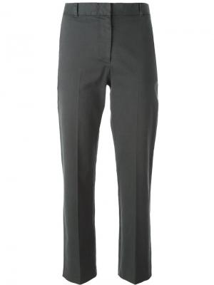 Укороченные брюки-чинос Ps By Paul Smith. Цвет: серый