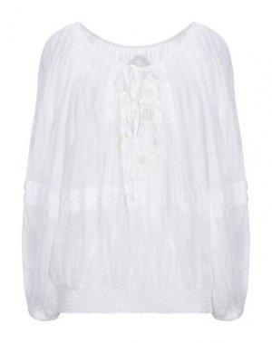 Блузка GADO by MARGRIET WAGERAAR. Цвет: белый