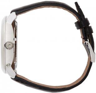 Silver & Black Slimline Perpetual Calendar Watch Frédérique Constant. Цвет: silve/balck