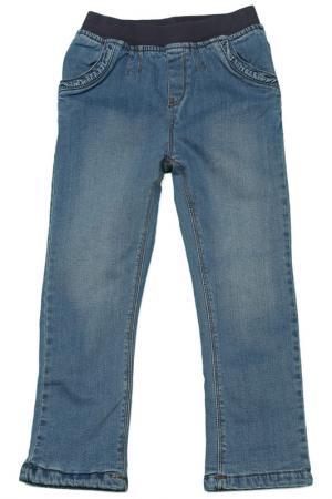 Брюки джинсовые CHERUBINO. Цвет: синий