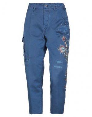 Повседневные брюки DON THE FULLER. Цвет: пастельно-синий