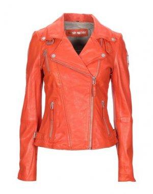 Куртка FREAKY NATION. Цвет: оранжевый