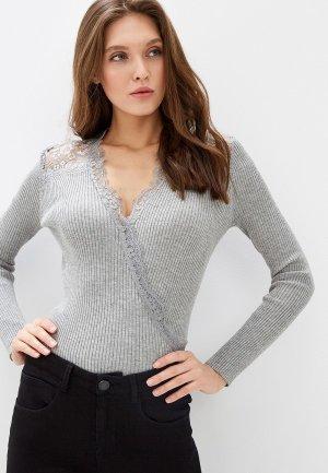 Пуловер Love Republic Exclusive online. Цвет: серый