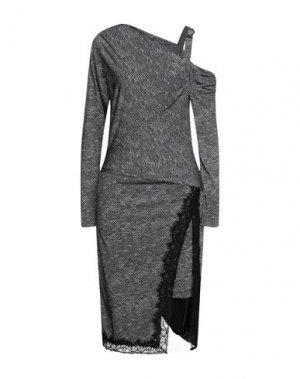 Платье миди EUREKA by BABYLON. Цвет: черный