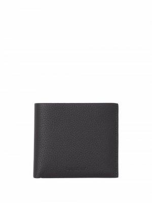 Фактурный бумажник International Burberry. Цвет: черный