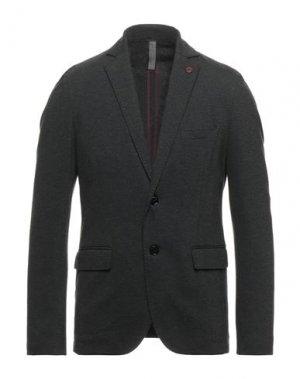 Пиджак HAMAKI-HO. Цвет: стальной серый