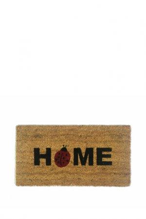 Коврик придверный 33x60 Giz Home. Цвет: бежевый, черный, зеленый