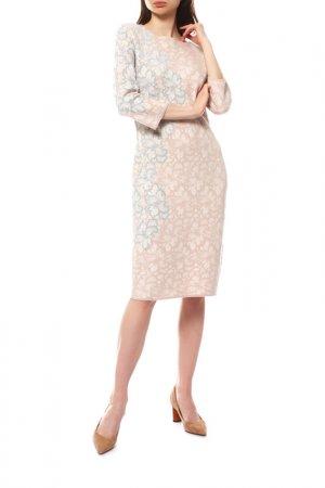 Платье D.Exterior. Цвет: персиковый
