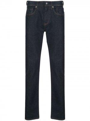 Levis: Made & Crafted зауженные джинсы 502 Levi's:. Цвет: синий