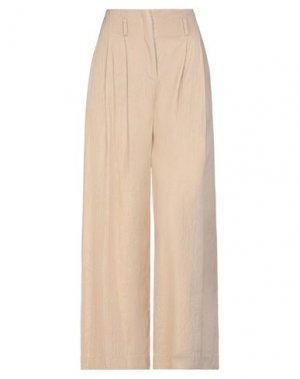Повседневные брюки BRAND UNIQUE. Цвет: бежевый