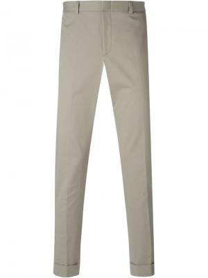 Классические брюки-чиносы Gucci. Цвет: телесный
