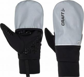 Перчатки Hybrid Weather, размер 7 Craft. Цвет: серебристый