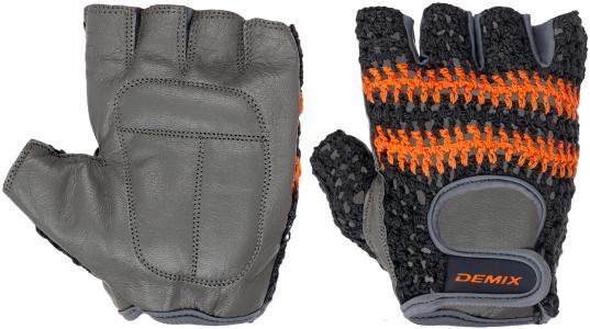 Перчатки для фитнеса , размер XL Demix. Цвет: серый