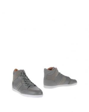 Высокие кеды и кроссовки JIM RICKEY. Цвет: серый