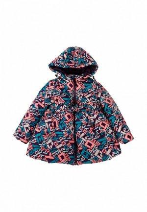 Куртка утепленная Born. Цвет: голубой