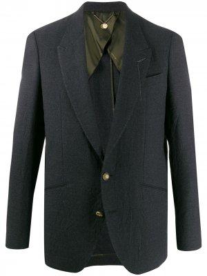 Строгий пиджак Saddam Maurizio Miri. Цвет: серый