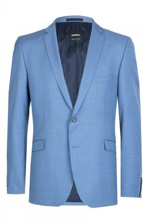 Голубой костюм-двойка Strellson. Цвет: голубой