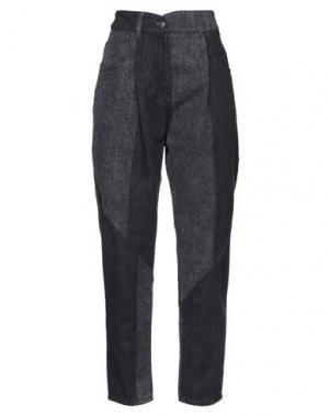 Джинсовые брюки 8PM. Цвет: черный