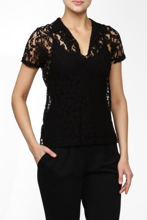 Блуза Jus d'Orange. Цвет: черный