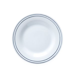 Комплект из 6 десертных тарелок LaRedoute. Цвет: белый
