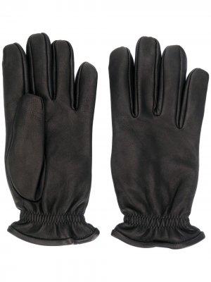 Перчатки с эластичными манжетами Orciani. Цвет: черный