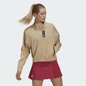Олимпийка Sportswear Primeblue adidas. Цвет: бежевый