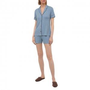 Пижама из вискозы Le Chat. Цвет: разноцветный