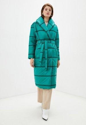 Куртка утепленная Vivaldi. Цвет: бирюзовый