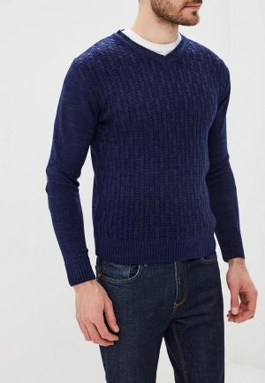 Пуловер Bigtora. Цвет: синий
