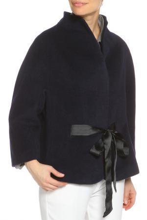 Пальто ELEGANT LEDI. Цвет: темно-синий