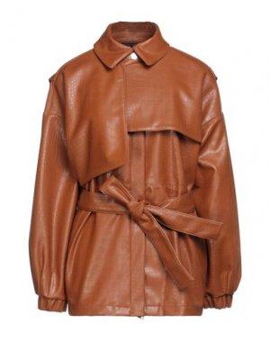 Куртка BEATRICE. Цвет: желто-коричневый