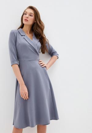 Платье Mamma Mia. Цвет: серый