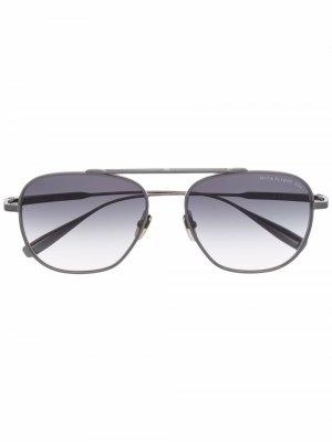 Dita Flight 009 sunglasses Eyewear. Цвет: серебристый