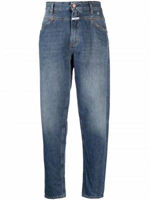 Mid-rise boyfriend jeans Closed. Цвет: синий