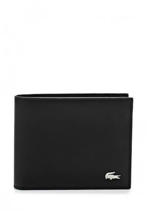 Кошелек Lacoste. Цвет: черный