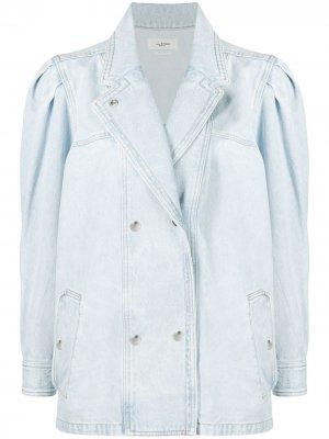 Джинсовая куртка свободного кроя Isabel Marant Étoile. Цвет: синий