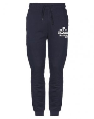 Повседневные брюки NAPAPIJRI. Цвет: темно-синий