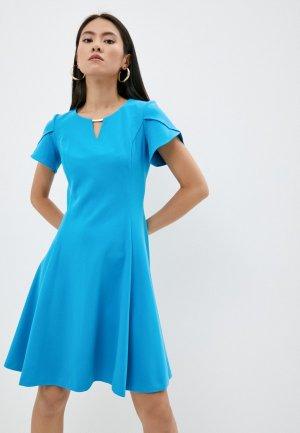 Платье DKNY. Цвет: голубой