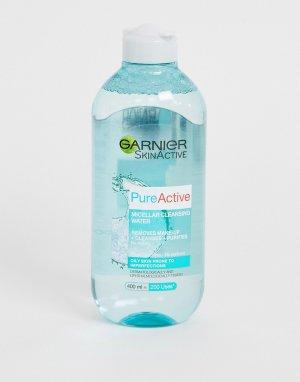 Очищающая мицеллярная вода 400 мл для жирной кожи Garnier
