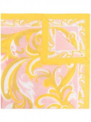Парео с принтом Albizia Emilio Pucci. Цвет: желтый