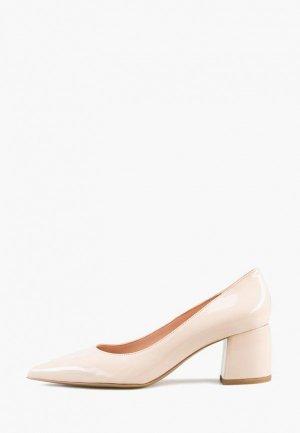 Туфли Giotto. Цвет: бежевый