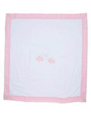 Одеяльце для младенцев IL GUFO. Цвет: белый