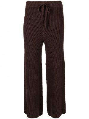 Укороченные брюки Martell в рубчик A.L.C.. Цвет: коричневый